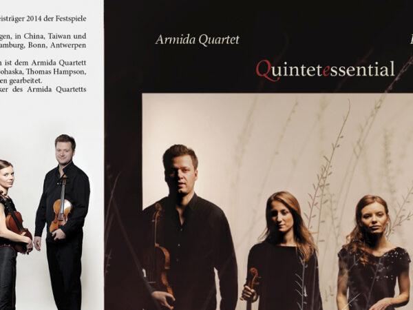 Armida Quartet CD QuintetEssential